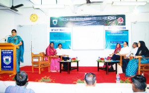 """A Two-day NAAC Sponsored National Seminar on """"Promotion and Sharing of best practices in Quality Assurance"""" is organized by IQAC on 30th &31st March 2012"""